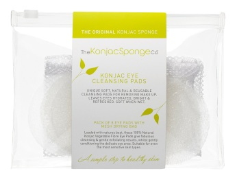 The Konjac Sponge Eye Cleansing Pads FreshBeautyFix