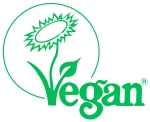 The Vegan Society certification logo FreshBeautyFix
