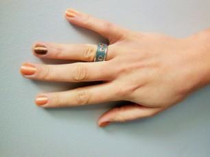 Organic Glam Nail Polish in Sweet Peach and Dorothy FreshBeautyFix