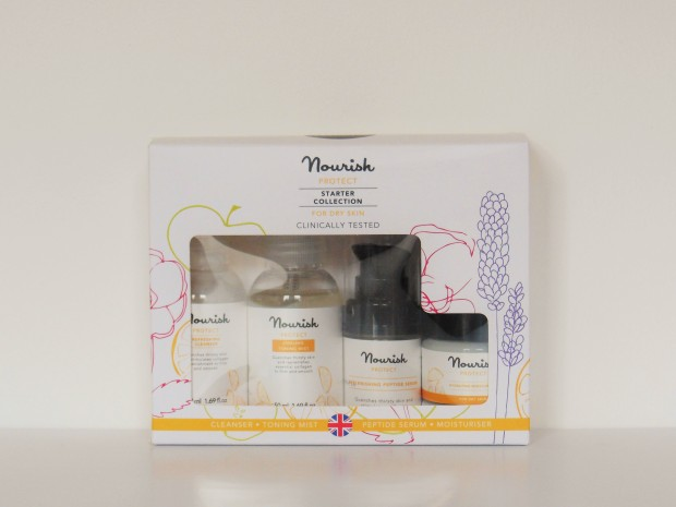 FreshBeautyFix Nourish Protect Starter Collection boxed