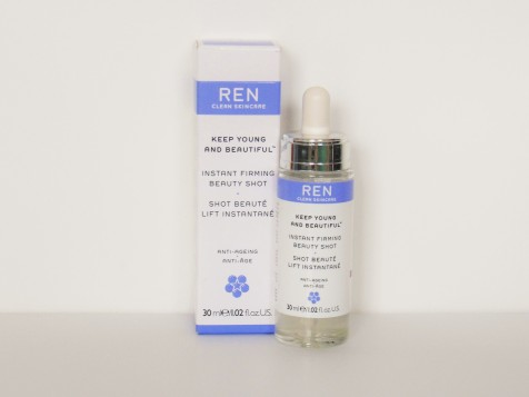 REN Instant Firming Beauty Shot FreshBeautyFix