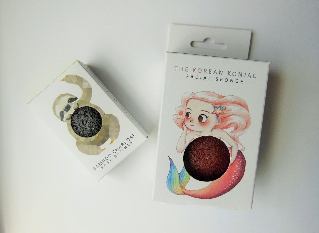 TheKonjacSpongeCo mermaid and rainforest face sponges FreshBeautyFix