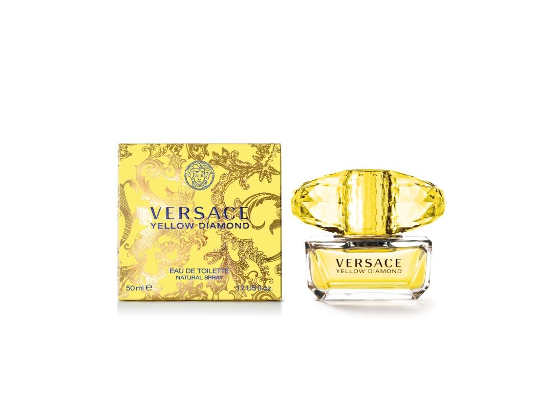 Versace Yellow Diamond fragrance bottle