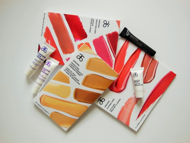 Arbonne Makeup and Haircare Samples FreshBeautyFix