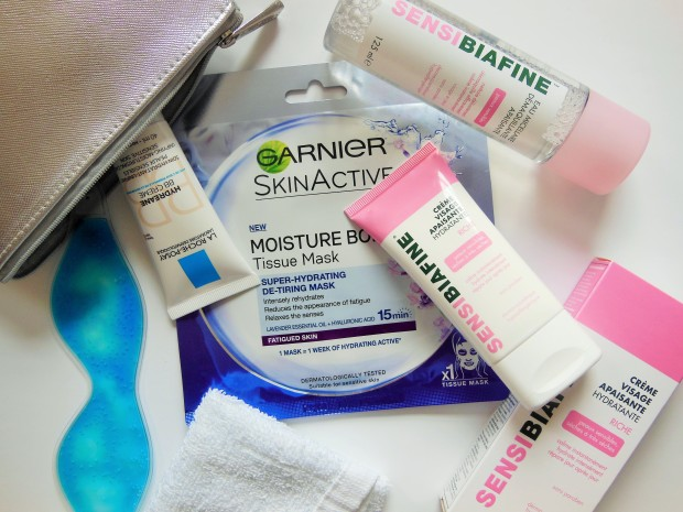 French Pharmacy Skincare Products featuring Garnier La Roche Posay SensiBiafine