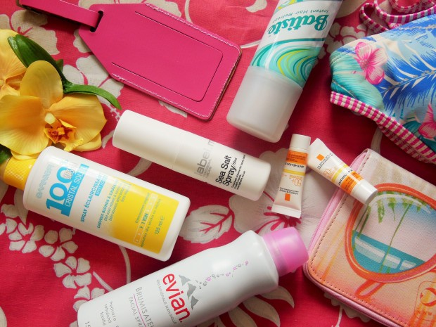 FreshBeautyFix Summer Beauty Essentials featuring La Roche-Posay Batiste label.m Evian and Garnier