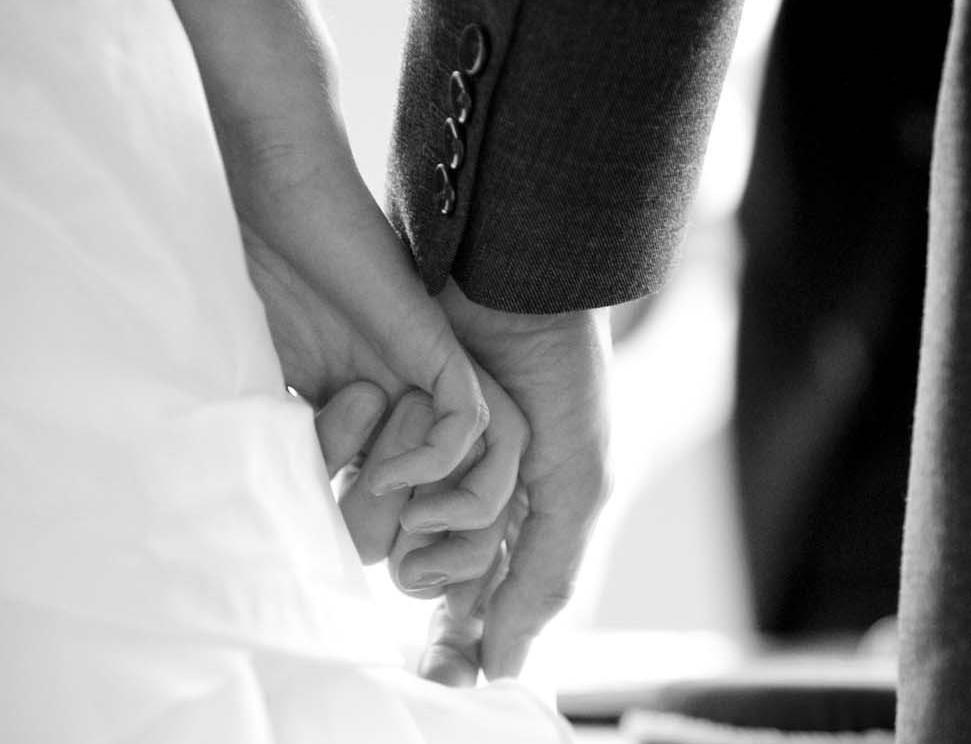Wedding Season Bride and Groom holding hands FreshBeautyFix