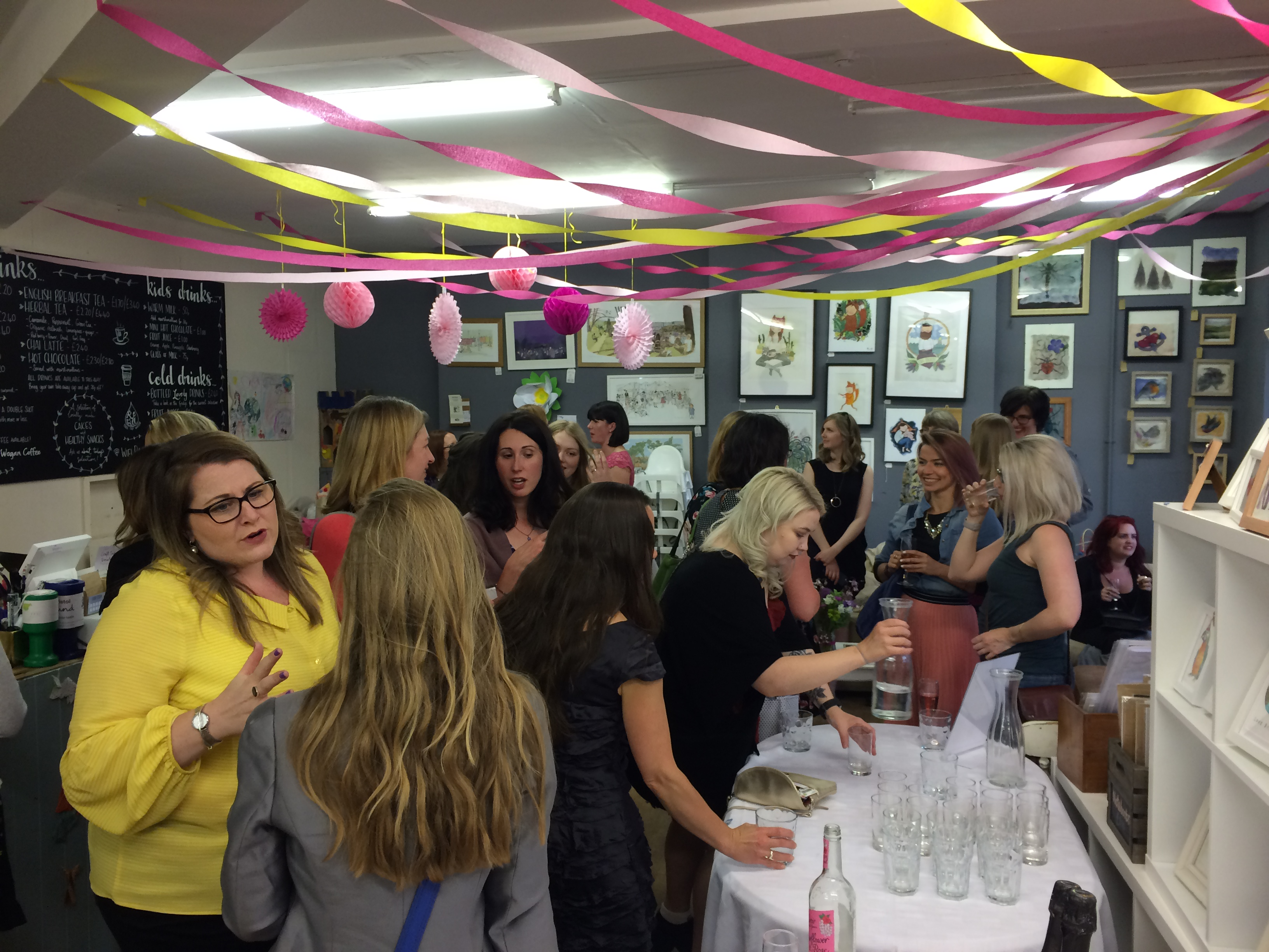 Brand partners and Residents at the Rare Beauty launch event