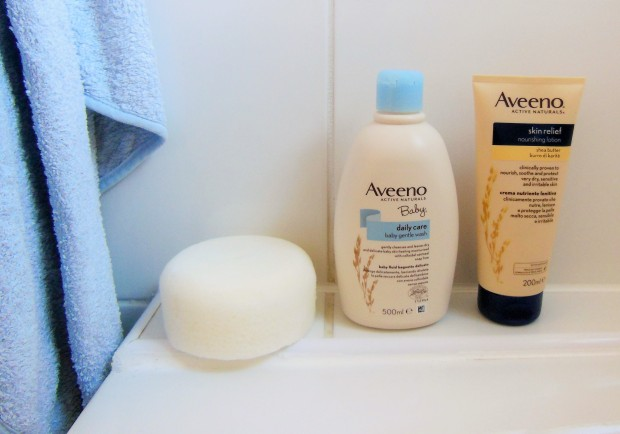 Aveeno Baby Body Wash and Skin Relief Moisturising Lotion