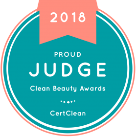 Clean Beauty Awards 2018 Judge