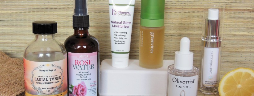 Clean Beauty Awards products from the face care category
