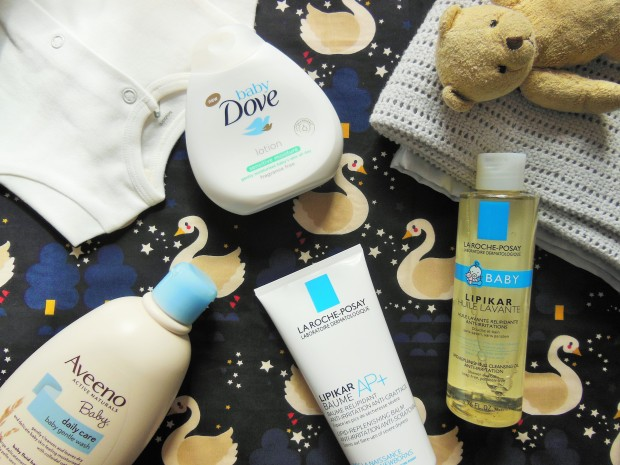Baby skincare and clothing suitable for eczema-prone skin