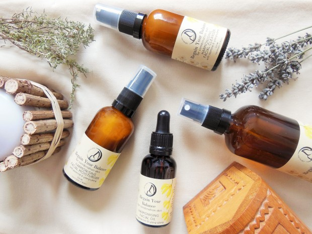 Freyaluna natural skincare products