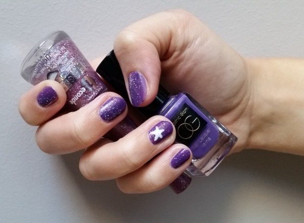 Wish upon a star manicure by FreshBeautyFix
