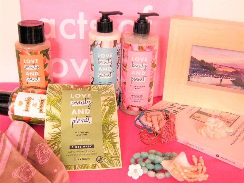 Love Beauty and Planet toiletries groupshot