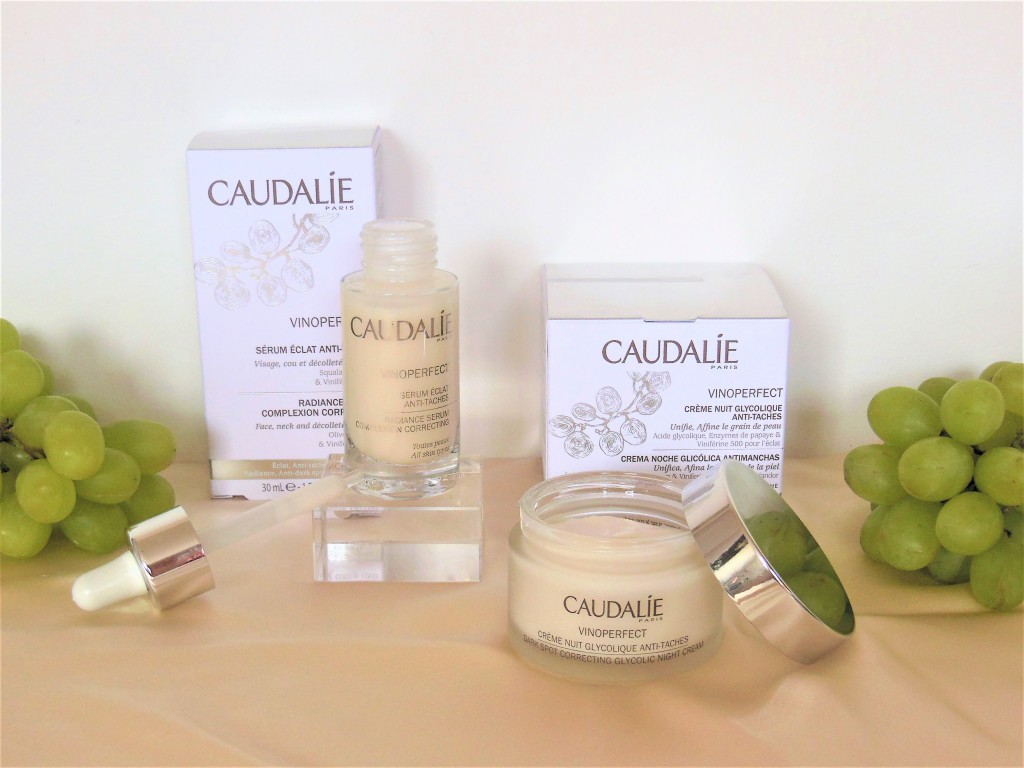 Caudalie Vinoperfect serum and moisturiser