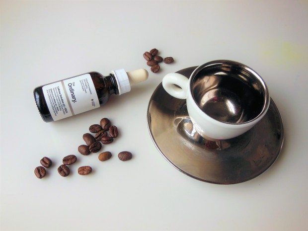 The Ordinary Caffeine Solution with espresso cup