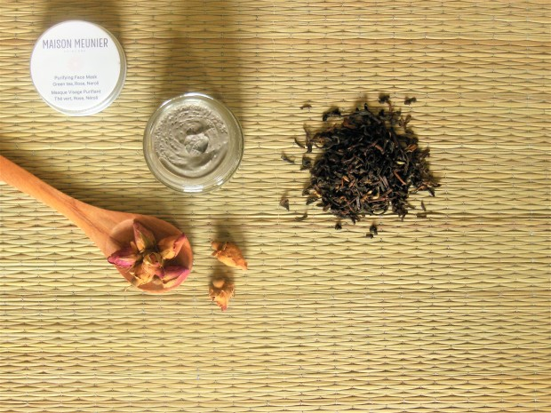 Maison Meunier Face Mask with ingredients
