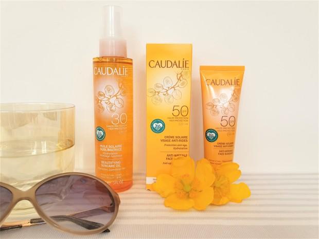 Caudalie suncare products