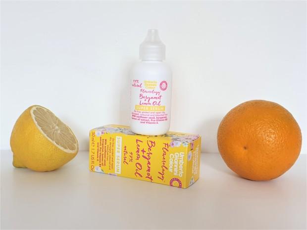 Umberto Giannini hair serum with citrus fruits