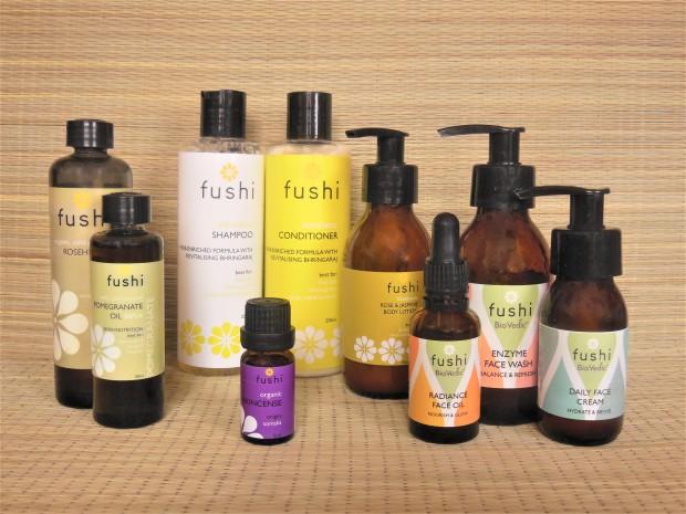 Fushi skincare products