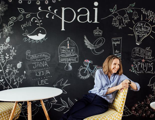 Sarah Brown founder of Pai skincare