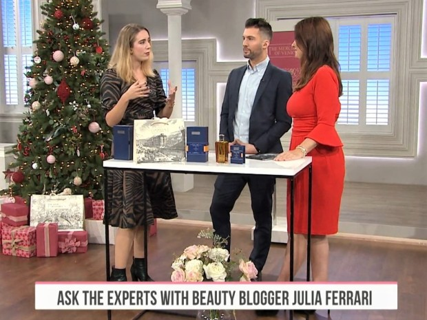 Beauty Blogger Julia Ferrari on QVC