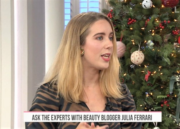 Fresh Beauty Fix beauty blogger Julia Ferrari on QVC