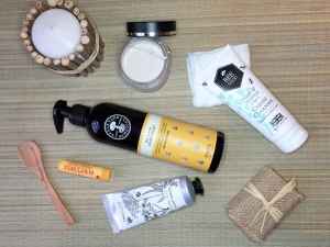 Bee friendly skincare products