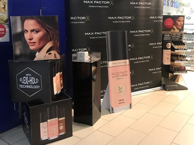 Max Factor POS in Boots