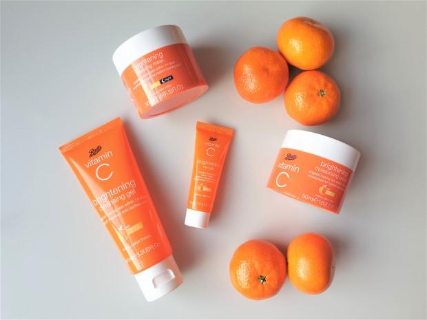 Boots Vitamin C Brightening skincare