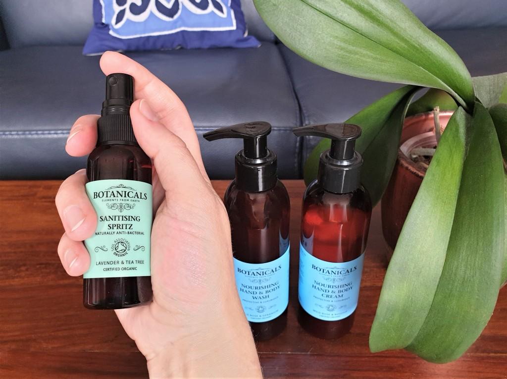 Botanicals Hand Sanitiser Spray