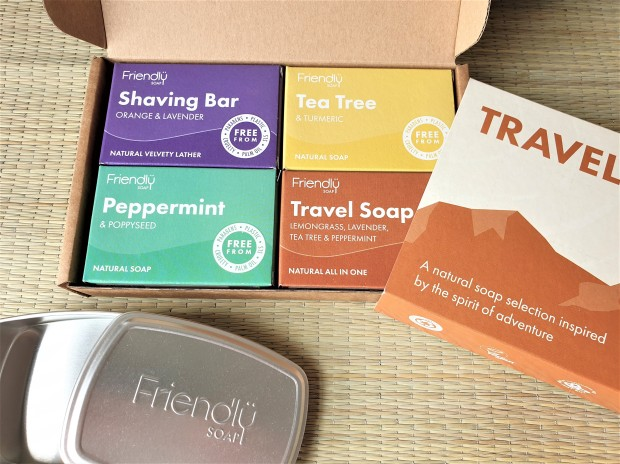 Friendly Soap travel selection box and tin