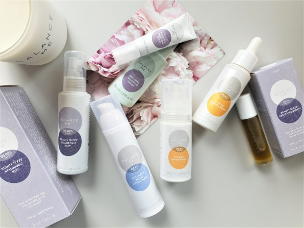 Balance Me natural skincare products