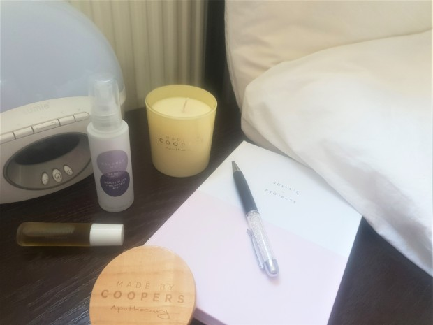 Bedside table essentials for sleep hygiene